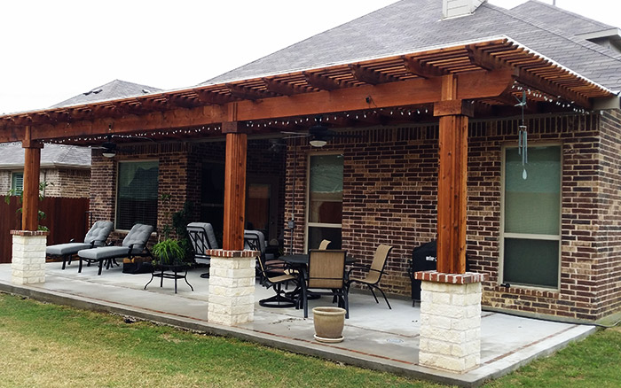 ... Arbor To Your House Contact Us Here At Texas Patios And Concrete We  Have A Team Of Landscaping Service Professionals To Help You With Every  Aspect Of ...